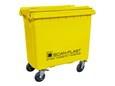 Containere 4 hjulede-miljøfarligt affald