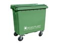 4-riteņu konteiners-plastmasas