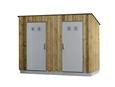 Dry closet Double cabin