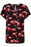 SOAKED IN LUXURY FLAMINGO TOP 30402921