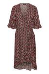 SOAKED IN LUXURY PERNILLE FLOWER WRAP DRESS 30404071