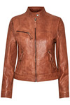 EDUCE SALINA LEATHER JACKET 50302120