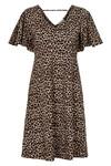 CREAM LEONA JERSEY DRESS 10603783