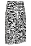 SOAKED IN LUXURY OLINE ZEBRA SKIRT 30404068