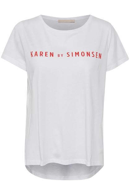 KAREN BY SIMONSEN GENIUS LOGO T-SHIRT 10102181