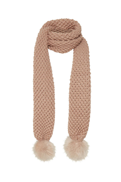 CREAM AYSA SCARF 10401203