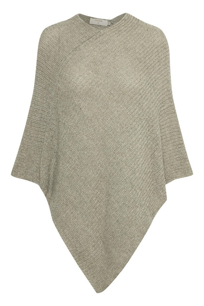 CREAM SALLY PONCHO 10401276