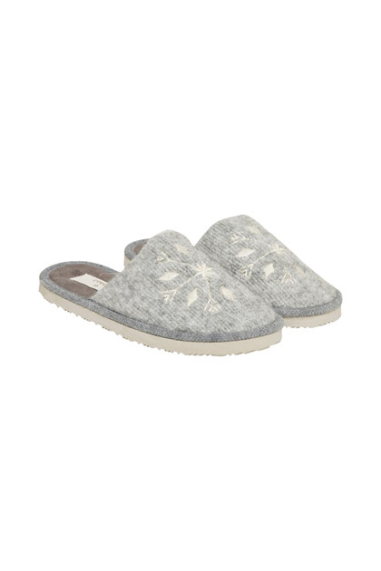 CREAM YVONNE SLIPPERS 10401356