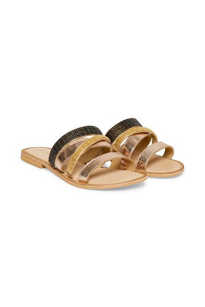 CREAM MILEY SANDAL 10401500