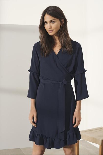 KAFFE AMILLA WRAP AROUND DRESS 10501855