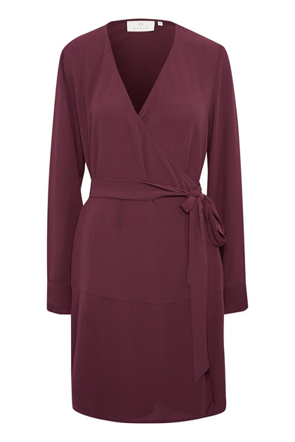 KAFFE BLISS WRAP DRESS 10502486