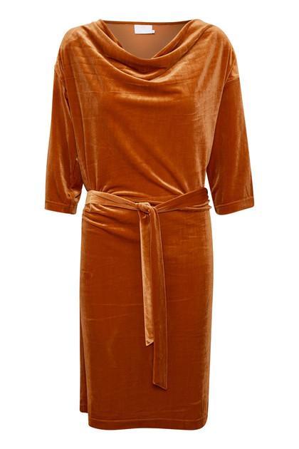 KAFFE SELBA VELVET DRESS 10502540