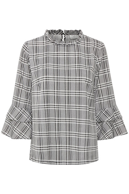 KAFFE DEBBIE CHECKED BLUSE 10502870