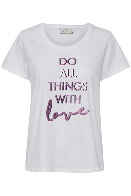 KAFFE LOVE T-SHIRT 10502951