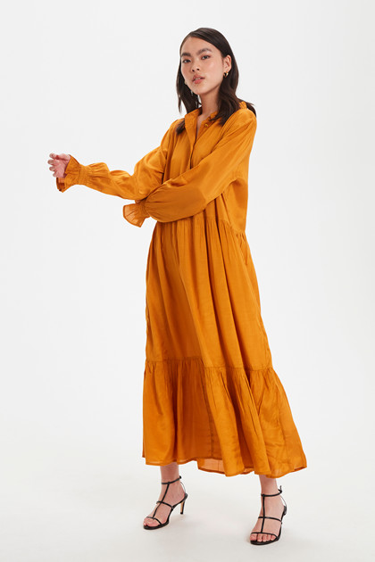 KAFFE KATHEA MIDI DRESS 10551565 B