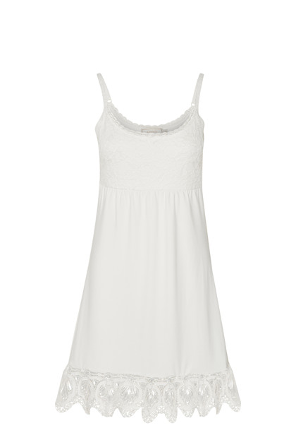 CREAM MITZY UNDERDRESS 10600657 C