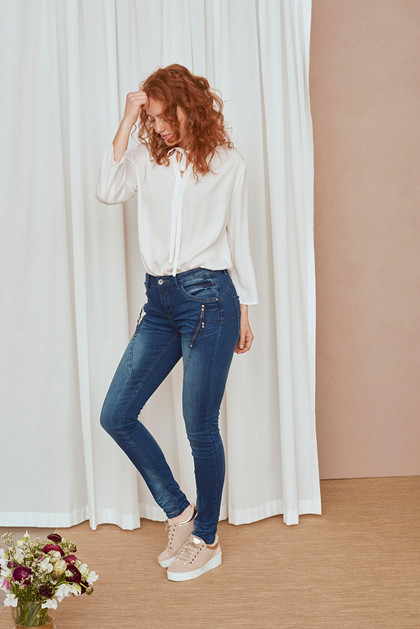CREAM BIBIANA DENIM JEANS 10602175