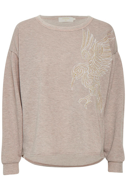 CREAM BELLINA SWEATSHIRT 10602512