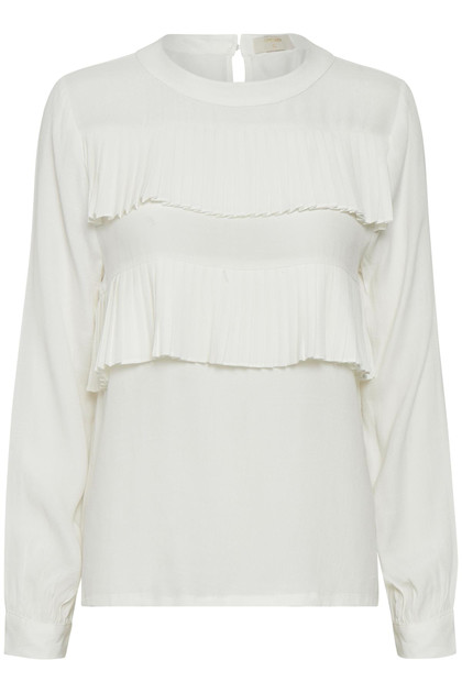 CREAM GARNER BLOUSE 10602802