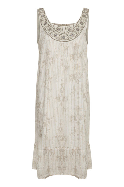 CREAM NICOLA DRESS 10603268