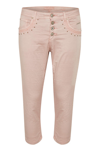 CREAM TILDE CAPRI PANTS - BAIILY FIT 10603379 S