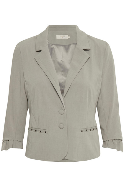 CREAM VERONA 3/4 SLEEVE BLAZER 10603389