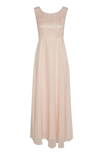 CREAM ARABELLA LONG DRESS 10603413