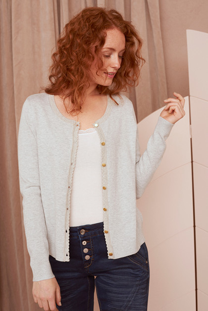 CREAM TAMMY CARDIGAN 10603498
