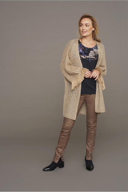 CREAM BERNICE CARDIGAN 10604057