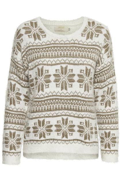 CREAM HOLIDAY SWEATER 10604148