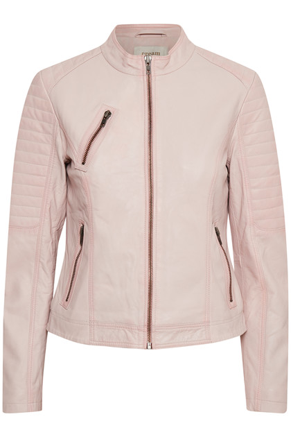 CREAM FELICIANA LEATHER JACKET 10604309