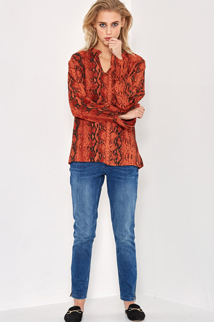 Denim Hunter SNAKE BLOUSE 10701689