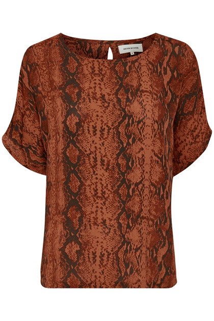 Denim Hunter SØRINE SNAKE BLUSE 10701846