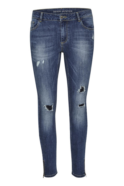 Denim Hunter CELINA ZIP TORN JEANS 10701894
