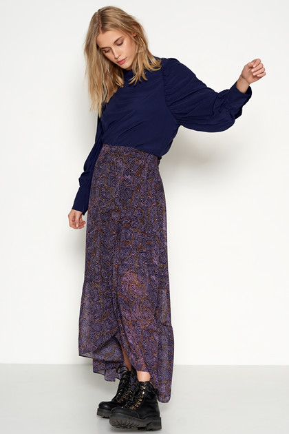 Denim Hunter DHYOLA MAXI WRAP SKIRT 10702364