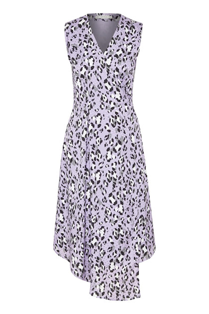 GESTUZ LEOPA WRAP DRESS P