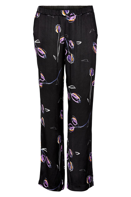 IN FRONT ISEL SILK WASH PANTS 12917