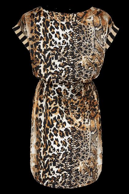 IN FRONT BRAZEL DRESS 13398