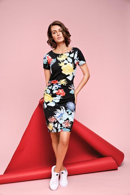 Fransa OMSELLA 1 DRESS 20604131