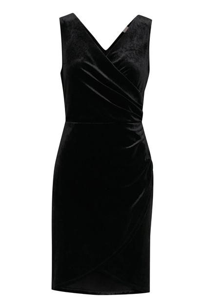 ICHI IHVELVET DRESS 20107844 10011