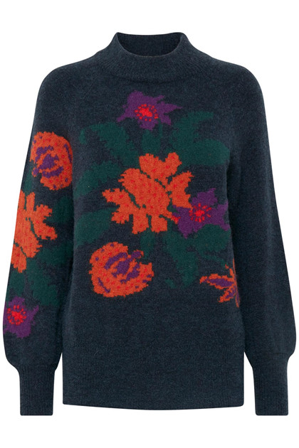 b.young MIKKA FLOWER JUMPER 20804848