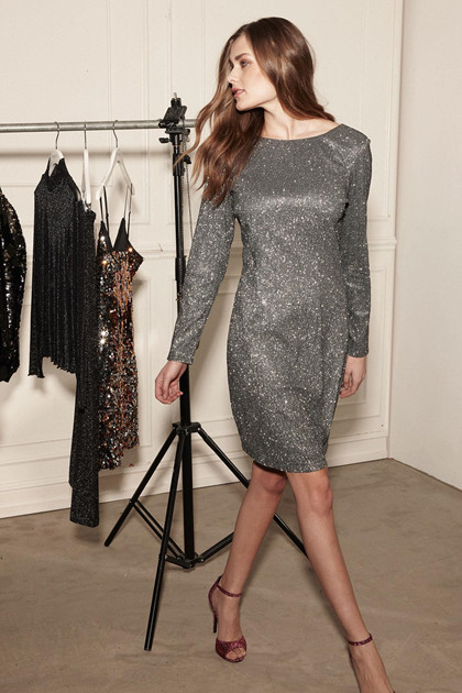 SOAKED IN LUXURY CHER DRESS 30403515