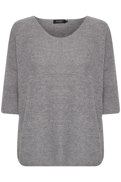 SOAKED IN LUXURY TUESDAY GLITTER JUMPER 3/4 30403546 M