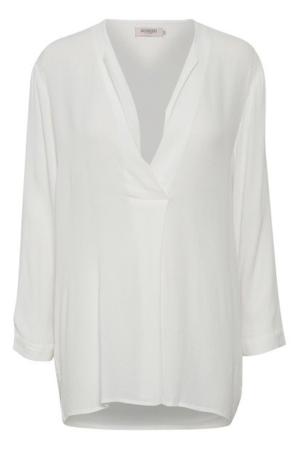 SOAKED IN LUXURY KINSIE BLUSE 30403883