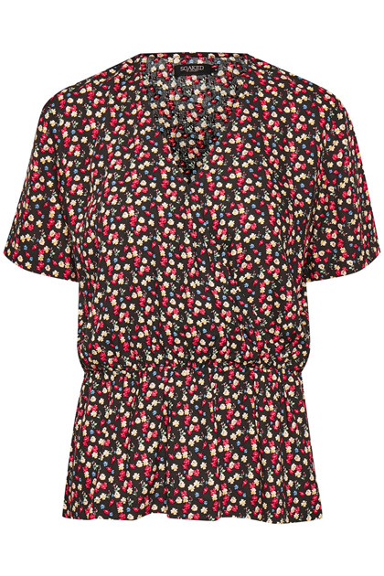 SOAKED IN LUXURY PERNILLE FLOWER TOP 30404069