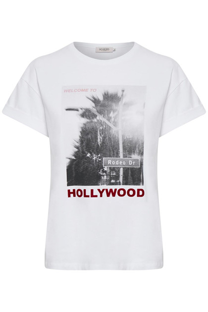 SOAKED IN LUXURY SLHALLIE T-SHIRT 30404195