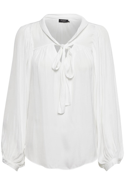 SOAKED IN LUXURY SL EVERLYN BLUSE 30404331