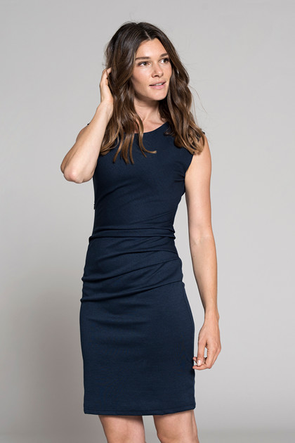 KAFFE INDIA O-NECK DRESS 501002
