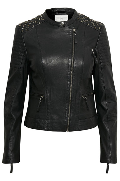 CULTURE HALINA LEATHER JACKET 50105187