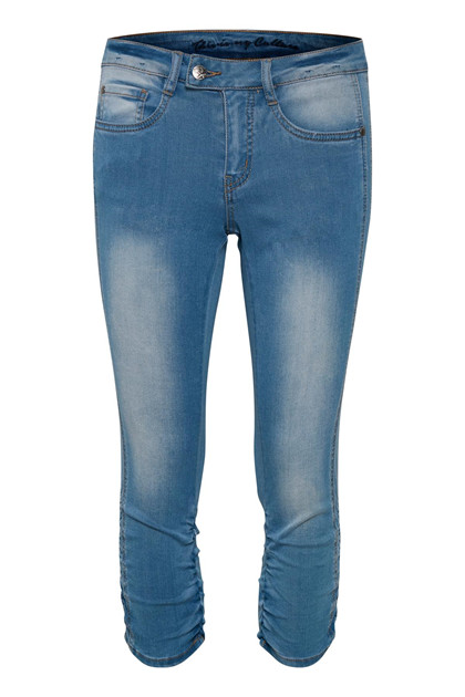 CULTURE ERITZA CAPRI DENIM BUKSER 50105502